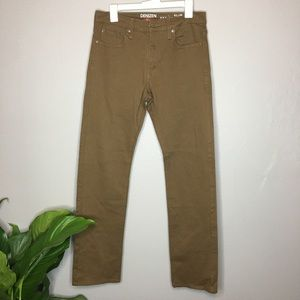 Denizen Levi's Brown 232 Slim Straight Fit Pants